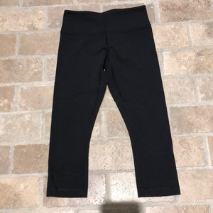 Lululemon crop wunder under legging